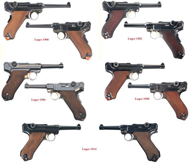 Luger variations