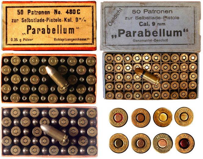 9 mm Parabellum cartridge