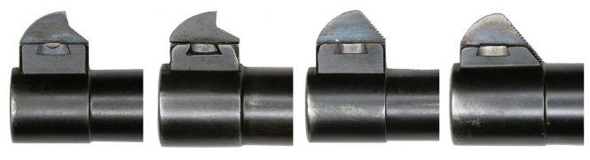 Luger variations Front Sight