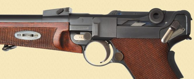 Model 1920 Luger Carbine
