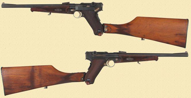 Пистолет-карабин Люгер модель 1920 года