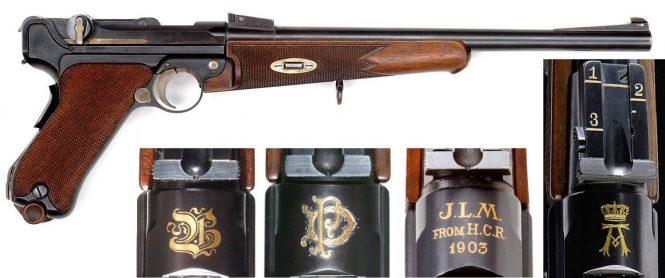 Presentation Luger carbine