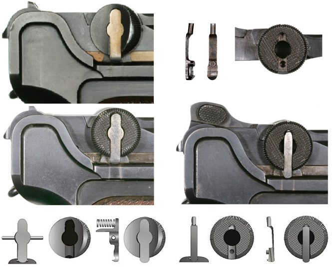 First and Second transitional toggle locks