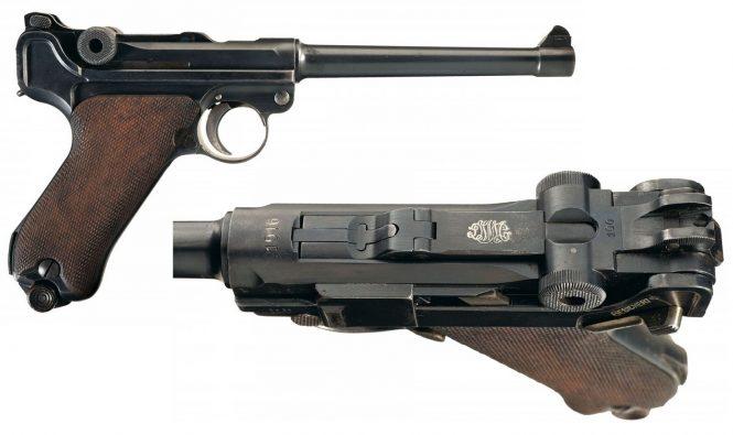 Navy Luger Pistol 1914