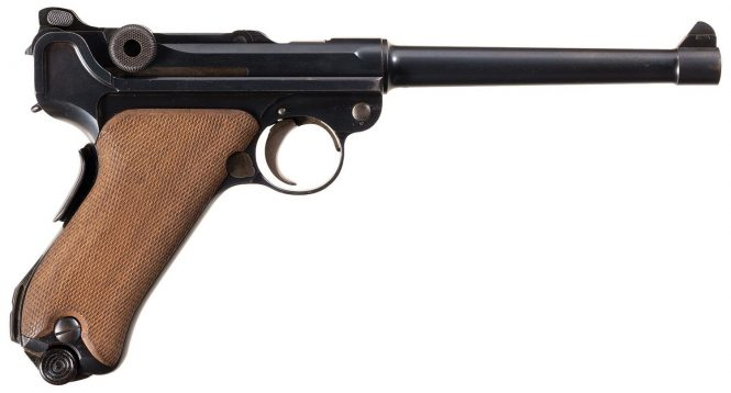 Luger 1906 Navy Second issue