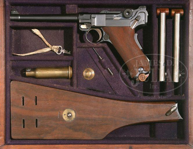 Luger Naval Pistole