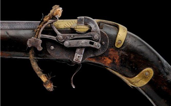 Ceylon matchlock pistol