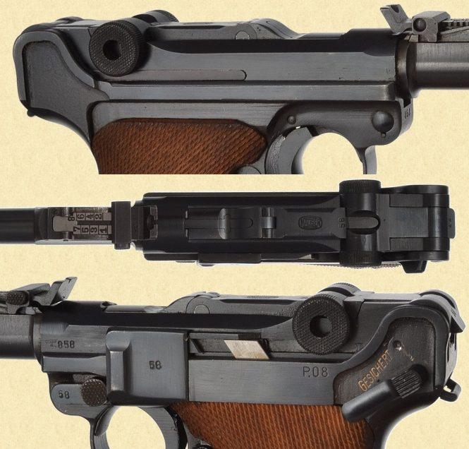 Mauser LP.08 Luger Artillery