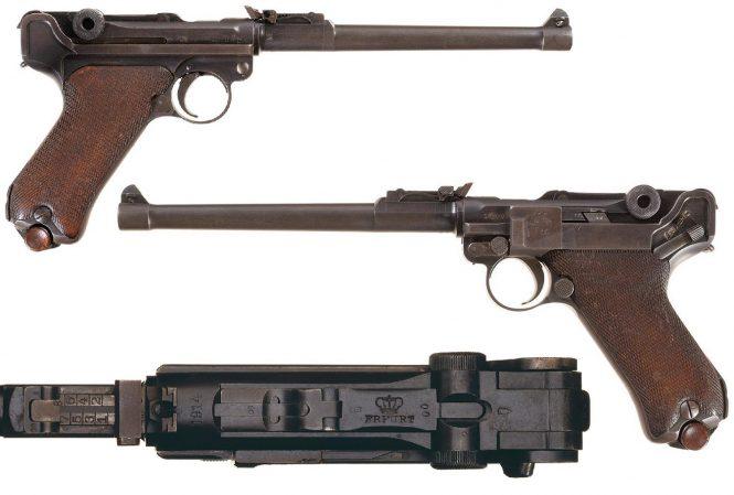 Erfurt LP.08 Luger Artillery