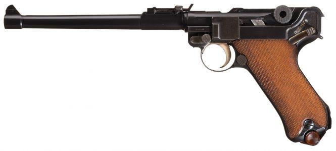 Luger 1920 Commercial Artillery Rework