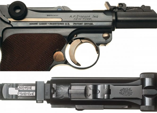 Luger Artillery Mauser A.F. Stoeger contract