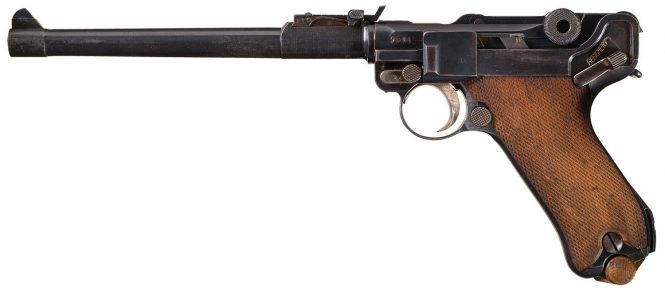 Luger Artillery DWM 1914 Military contract