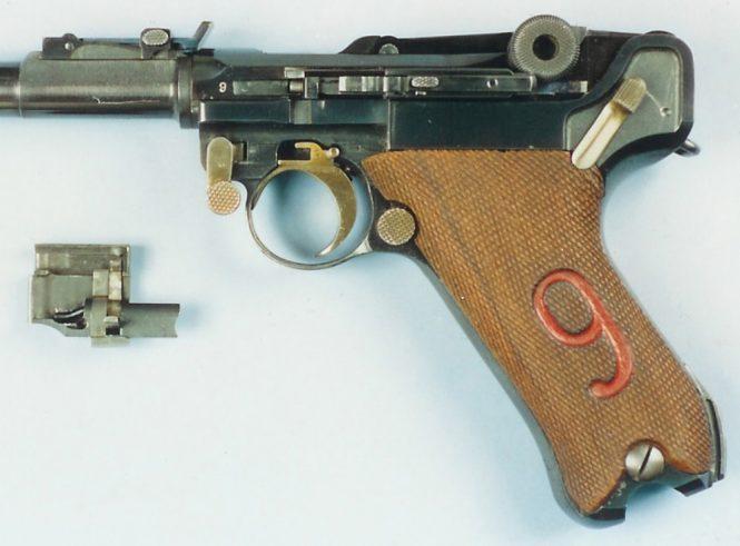 Luger Lange Pistole 08 selective fire conversion