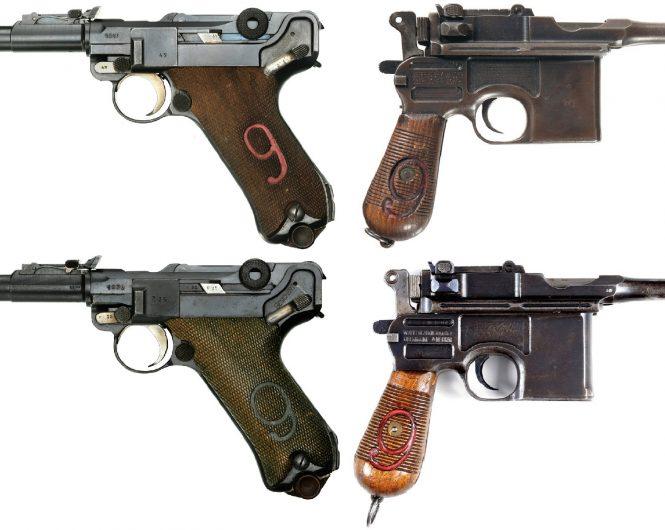 Red Nine Luger Artillery
