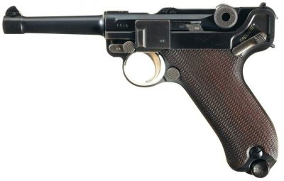 Luger 1908 Military - produced 1912