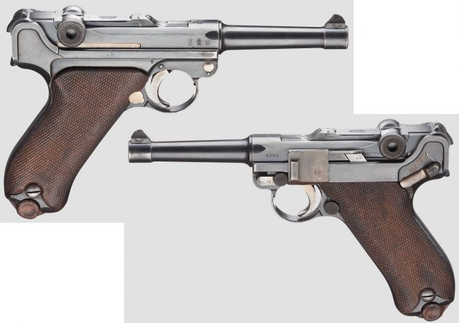 DWM Model 1908 Military Luger, Dated 1912