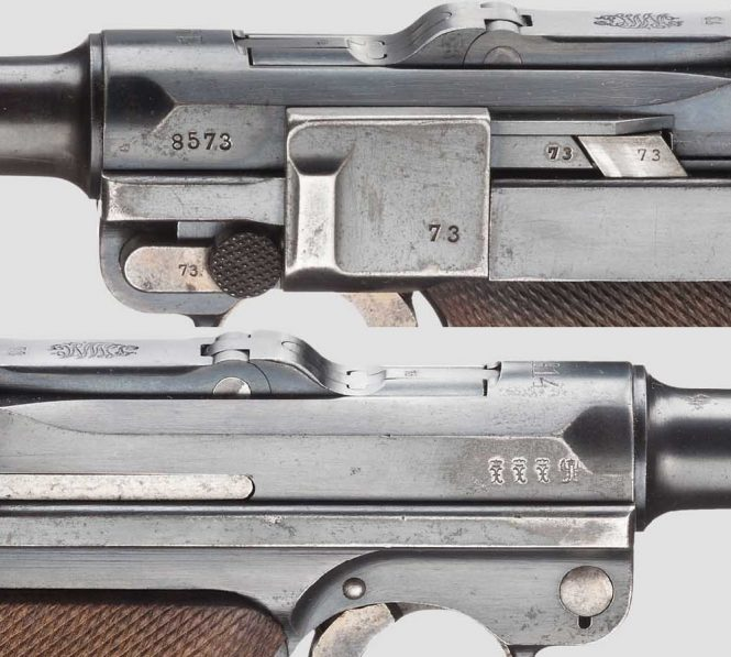 Second Issue Model 1908 DWM Military contract Luger pistol