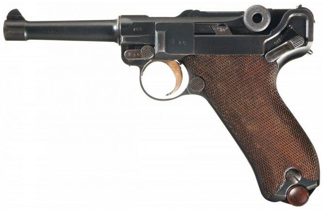 Pistol 08 Parabellum, Erfurt 1911