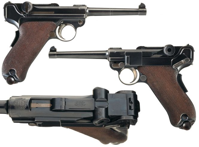 1903 Bulgarian Luger