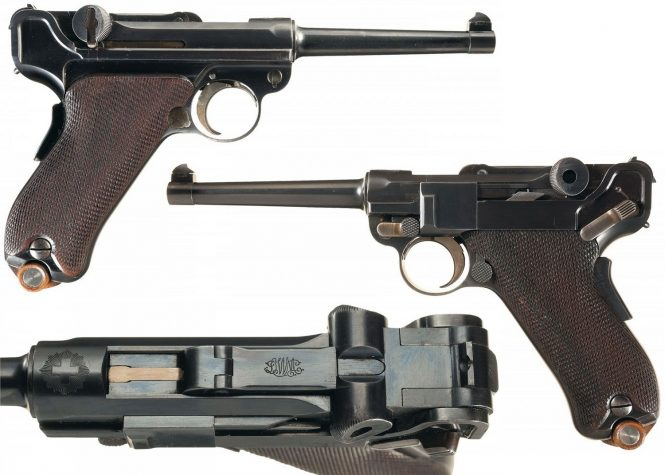 Swiss Luger 1900