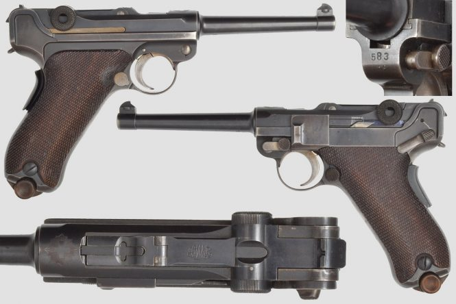 Swiss Luger 1906
