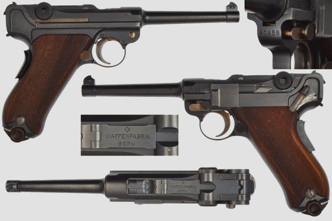 Luger Swiss 1906/24 Waffenfabrik Bern