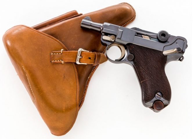 Martz Baby Luger with holster