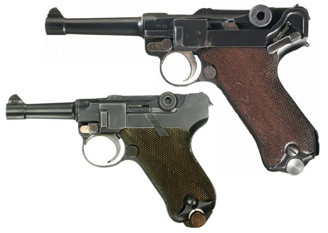 Baby Luger and P.08 Parabellum