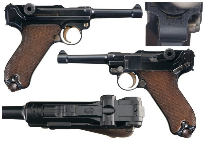DWM Model 1908 Bolivian Contract Luger