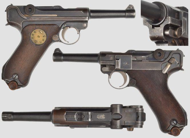 Finnish Lugers - Pistooli m/23 Pb