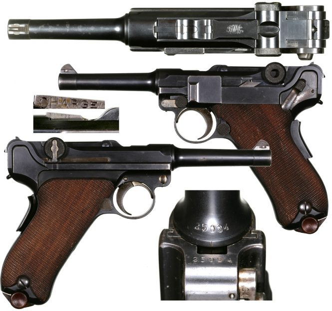 French Army trials Luger