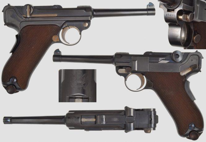DWM Luger 1900 American Eagle