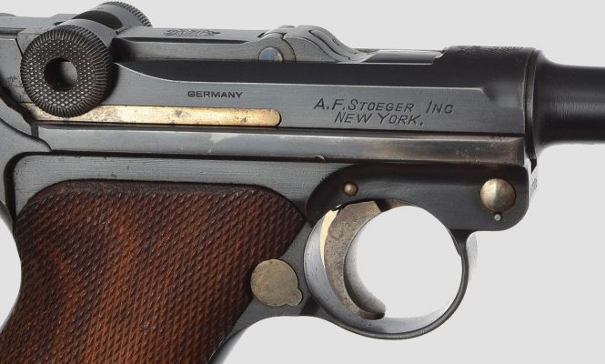 DWM Luger A.F. Stoeger American Eagle