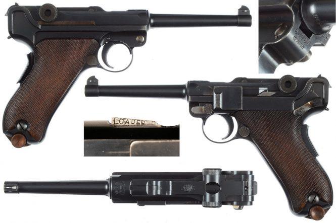 DWM Luger 1906 American Eagle