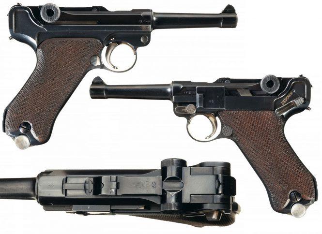 """Krieghoff """"S"""" Code Luger Pistol"""