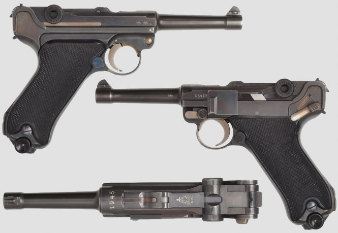 Krieghoff Luger 1945 Luftwaffe contract
