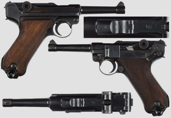 Mauser Lugers Code byf-2 Digit Date Military contract