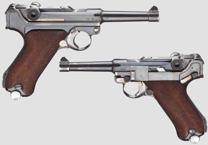 P.08 Parabellum Mauser
