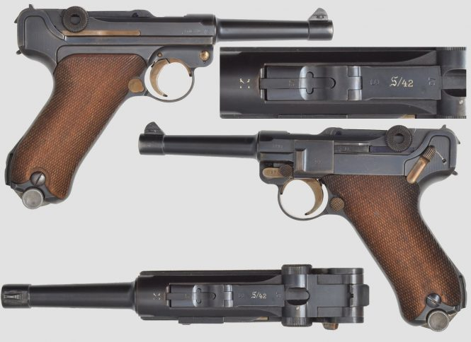 Mauser Lugers S/42 K Date German Military contract