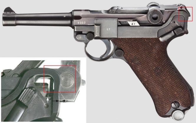 P.08 Luger-Mauser hump