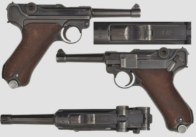 Mauser Lugers S/42 Chamber Date Military contract