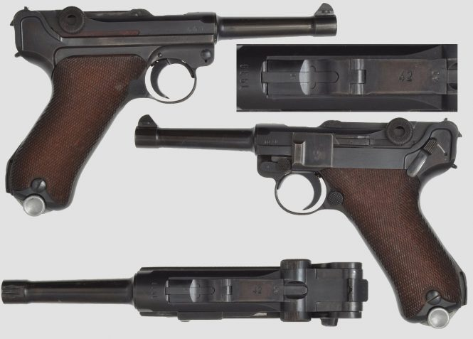 Mauser Lugers Code 42 Dated Military contract