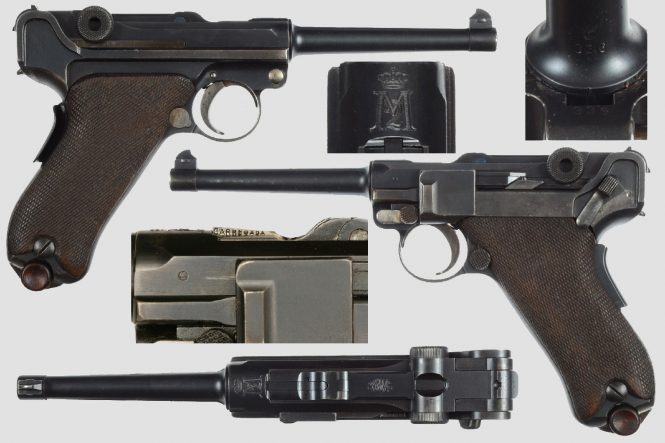 Portuguese Army M2 Luger