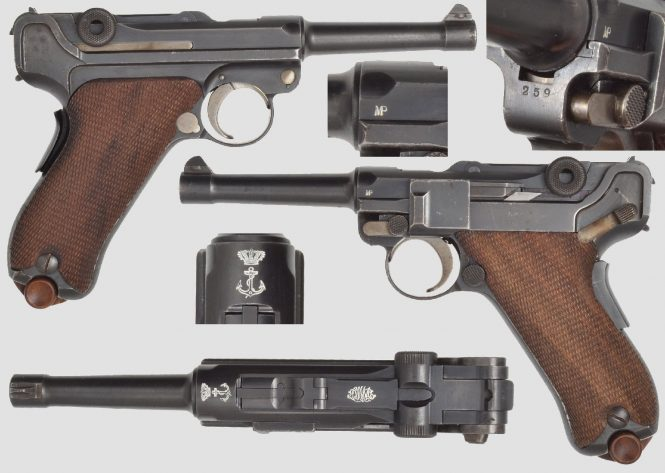 DWM Portuguese Navy Luger