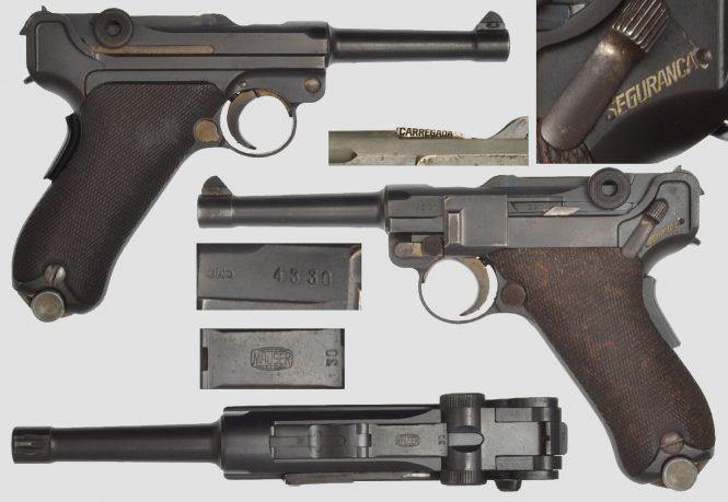 Portuguese Luger Mauser