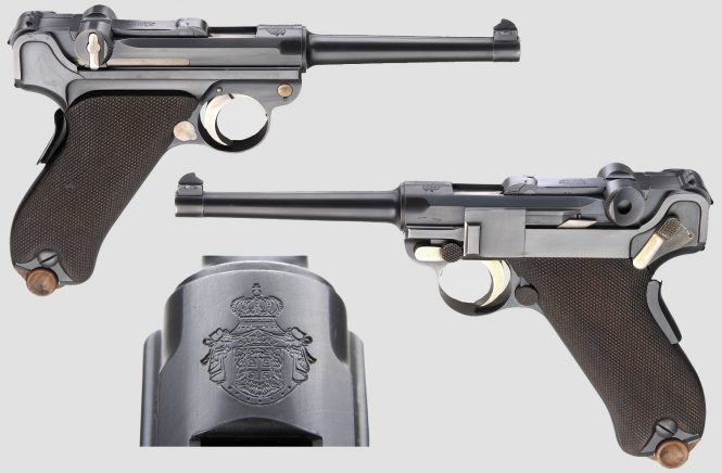 DWM Serbian commercial contract Luger pistol