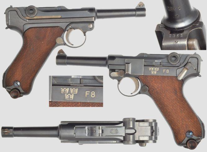 Swedish Luger
