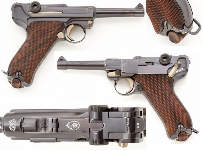 Bulgarian Luger M1911 P.08