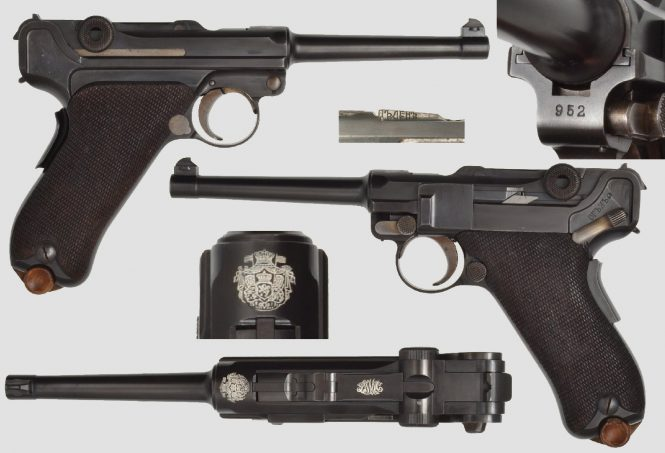 Bulgarian Luger 1903