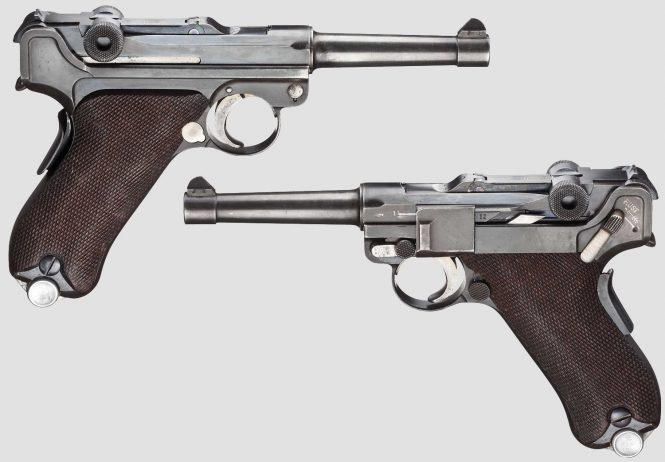 Dutch Luger Mod. 1906, Mauser